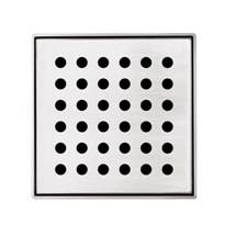 Forme Stainless Steel Floor Grate - Round 110mm x 110mm (90mm Waste)