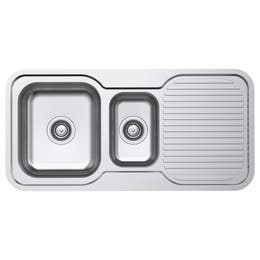 Everhard Classic Standard 980 Nth 1.5 Bowl & Drainer Kitchen Sink