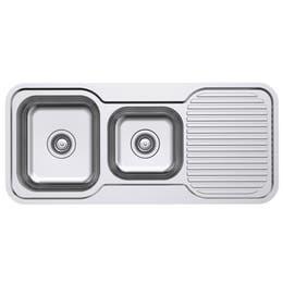 Everhard Classic Standard 1080 NTH 1.75 Bowl & Drainer Kitchen Sink