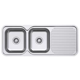 Everhard Classic Standard 1180 NTH 2 Bowl & Drainer Kitchen Sink