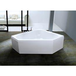 Vizzini Clove Corner Freestanding Bath 1300mm (L) x 1300mm (W) x 600mm (H)