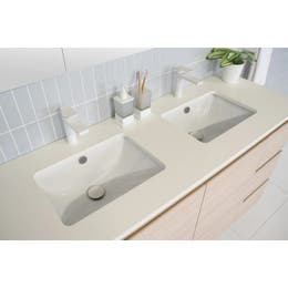 ADP Dish Under Counter Basin White.