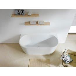 Vizzini Harrison Back To Wall Freestanding Bath 1500mm (L) x 750mm (W) x 580mm (H)