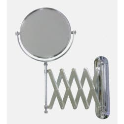 R46SM 200mm Wall Mounted Shaving Mirror in Chrome