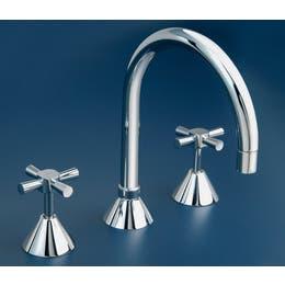 Linkware Kirra Profile Vanity Hob Sink Set