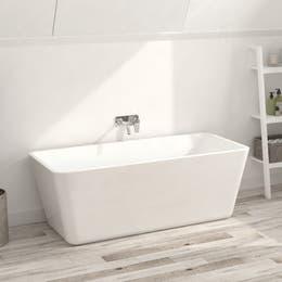 Vizzini Taliano Freestanding Bath 1755mm (L) x 755mm (W) x 600mm (H)