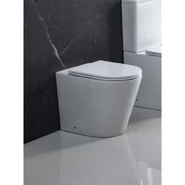 Unicasa Wall Face Floor Pan White ZARA99