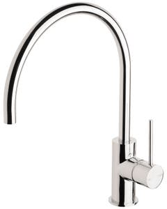 Phoenix Vivid Slimline Sink Mixer 220mm Gooseneck Chrome